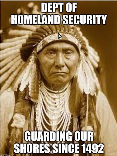 dept of homeland security 1492