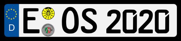 Nummernschild-eos-sgs