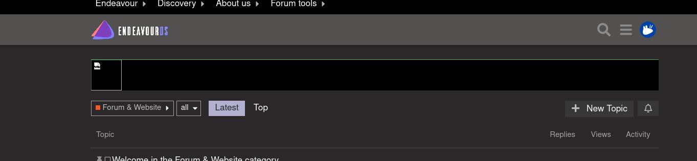 Screenshot_2020-07-18 Latest Forum Website topics - EndeavourOS