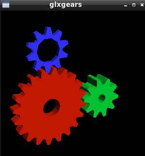 glxgears